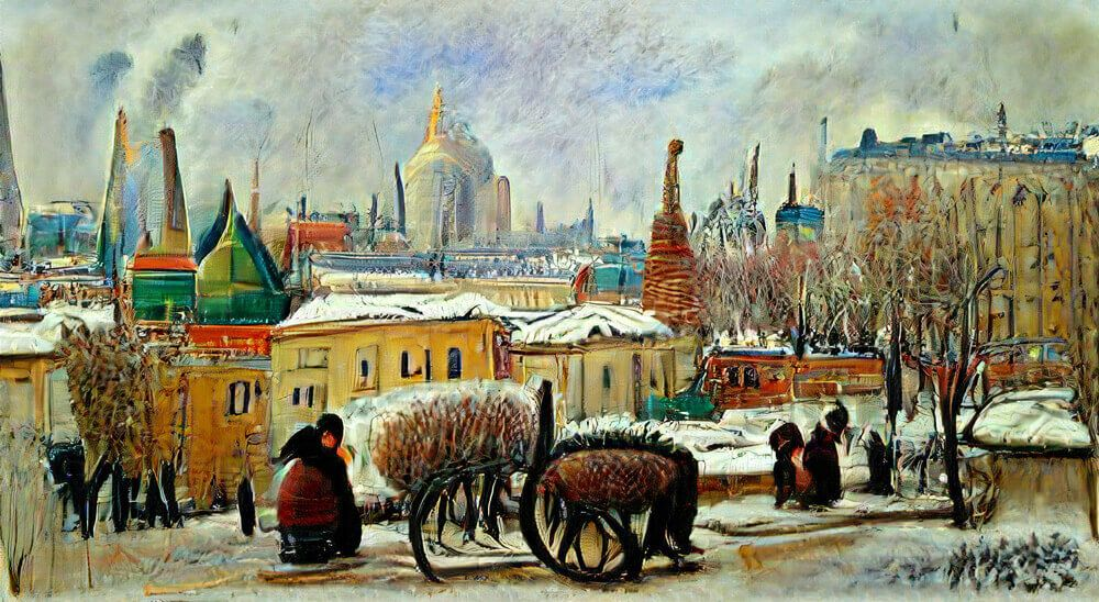 The world's 25 largest cities drawn by 25 of history's most famous artists